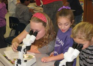 SNHS-microscope day